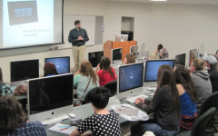 Journalism students from throughout Montana attended college classes at UM during the annual High School Journalism Day in April.