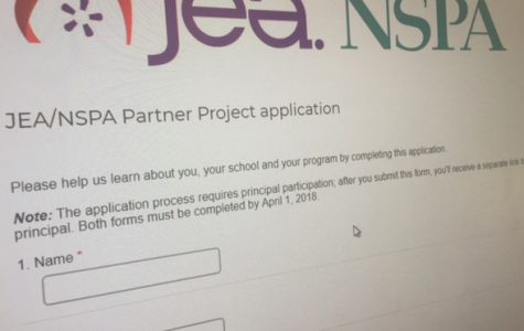 Deadline to apply for JEA/NSPA Partner Project is April 1