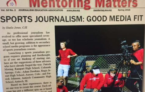 "Sports journalism focus of spring ""Mentoring Matters"""