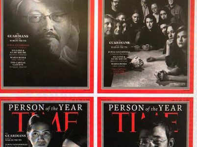 "TIME names ""The Guardians"" the person of the year"