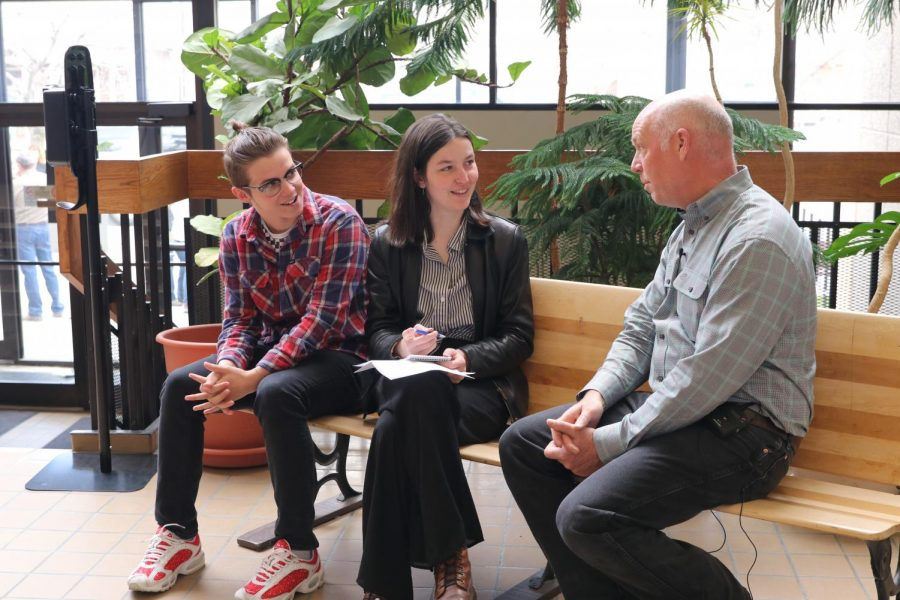 Livingston students interview Rep. Gianforte