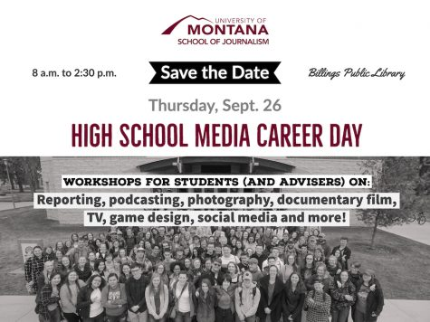 UM Journalism School to offer Media Career Day Sept. 26