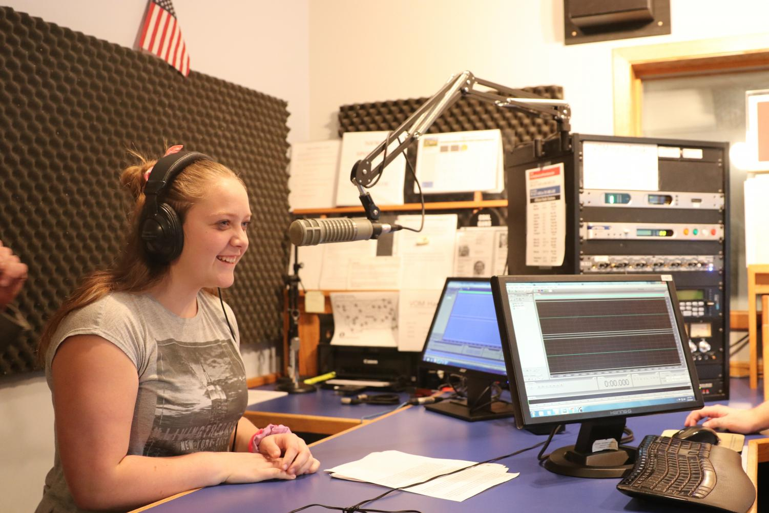 1.%09+Park+High+student+Desiree+Swanson+learns+how+to+interview+someone+on-air+while+visiting+the+Northern+News+Network+station+in+Billings+Thursday.