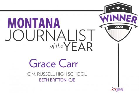 Grace Carr named Montana High School Journalist of the Year