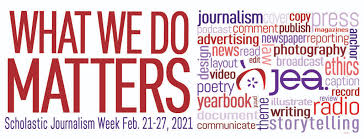 Scholastic Journalism Week set for Feb. 21-27
